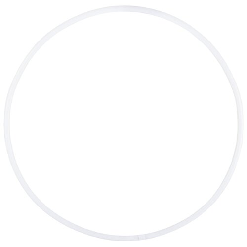 Гимнастический обруч Amely AGO-101 90см белый обруч гимнастический zso стандарт d16 мм цветной
