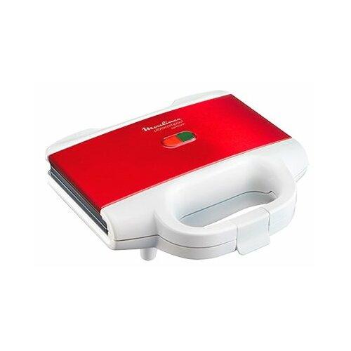 Сэндвичница Moulinex SM1595 красный/белый сэндвичница moulinex sm155d32