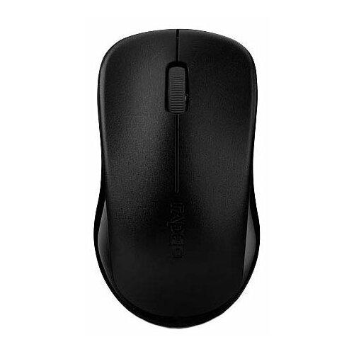 Мышь Rapoo 1620 Black USB комплект rapoo 8000 black