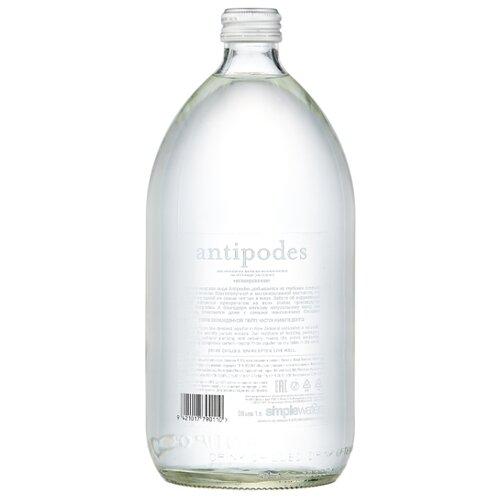 Вода минеральная Antipodes негазированная стекло, 1 л минеральная вода от изжоги при беременности