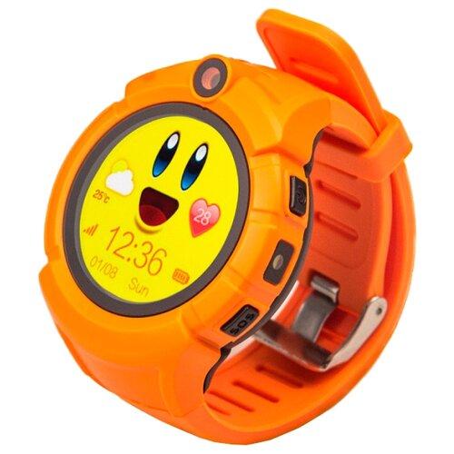 цена Часы Smart Baby Watch Q610 оранжевый онлайн в 2017 году