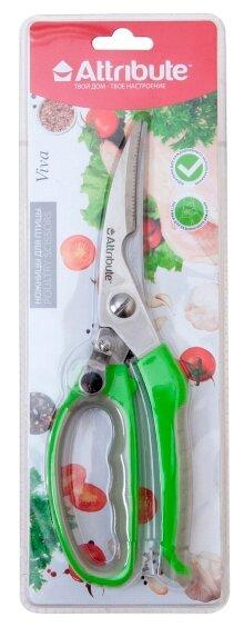 Ножницы Attribute Viva для птицы зеленый