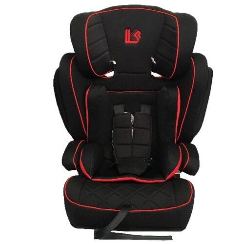 Автокресло группа 1/2/3 (9-36 кг) LiTTLE KiNG LK- 03 Isofix, черный/красный автокресло группа 1 2 3 9 36 кг little king lk 03 isofix черный красный