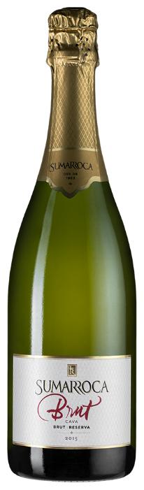 Игристое вино Cava Sumarroca Brut Reserva, 0.75л