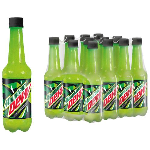 Газированный напиток Mountain Dew Цитрус, 0.5 л, 12 шт.Лимонады и газированные напитки<br>