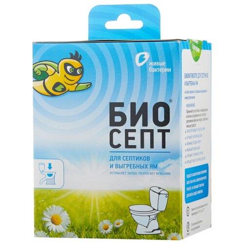 Живые бактерии Биоактиватор для септиков и выгребных ям Биосепт 24 шт.