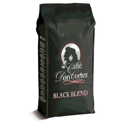 Кофе в зернах Don Cortez Black, арабика/робуста, 1000 г кофе в зернах carraro don cortez black 1000гр