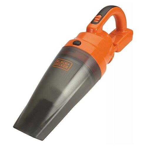 Пылесос BLACK+DECKER BDCDB18N-XJ оранжевый/серый
