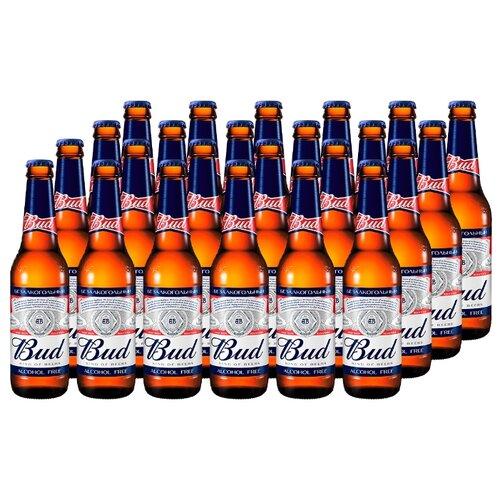 Пивной напиток светлый безалкогольный Bud 0.33 л х 24 шт