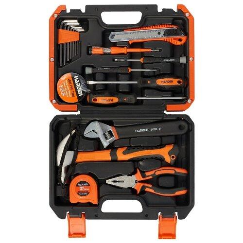 Набор инструментов Harden (22 предм.) 510222 оранжевый набор инструментов oasis jack 496807 оранжевый