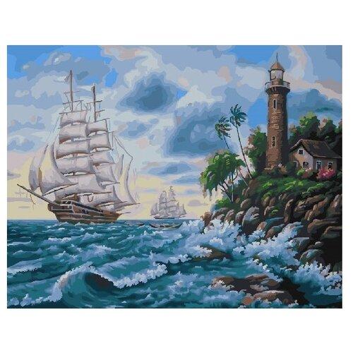 Купить ВанГогВоМне Картина по номерам На всех парусах , 40х50 см (ZX 21807), Картины по номерам и контурам