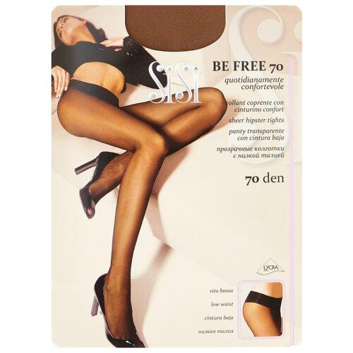 Колготки Sisi Be Free 70 den, размер 4-L, daino (коричневый) колготки sisi style 70 den размер 4 l daino бежевый