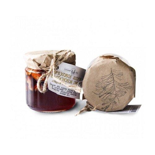 Ореховое ассорти в сосновом сиропе Таёжный Тайник, банка 240 г фото