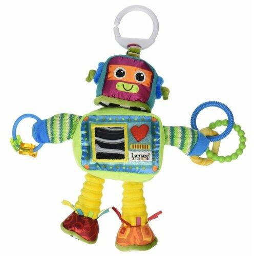 Купить Подвесная игрушка Lamaze Робот Расти (LC27089) салатовый/голубой, Подвески