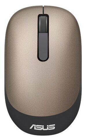 Мышь ASUS WT205 Black-Gold USB