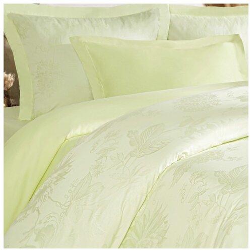 цена Постельное белье 2-спальное Mona Liza Royal Пион салатовый 5438/03 сатин-жаккард салатовый онлайн в 2017 году