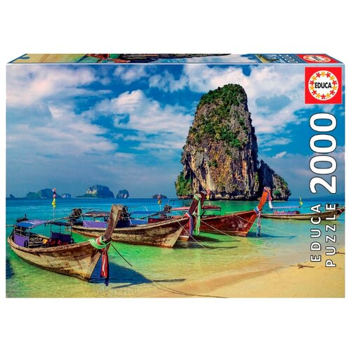 Купить Пазл Educa Краби, Тайланд (18007), элементов: 2000 шт., Пазлы