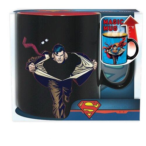 ABYstyle Кружка DC Comics - Superman 460 мл черный/синий