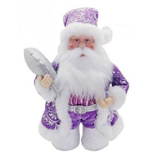 Фигурка Новогодняя Сказка Дед Мороз 20 см (972435) фиолетовый фигурки magic time фигурка новогодняя дед мороз с зайчиком 75531
