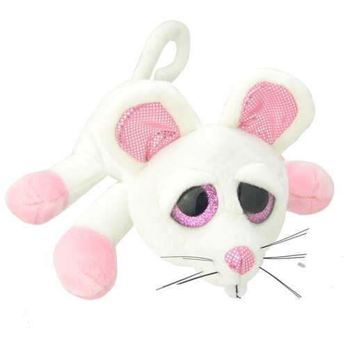 Мягкая игрушка Wild Planet Мышь белая 25 см.