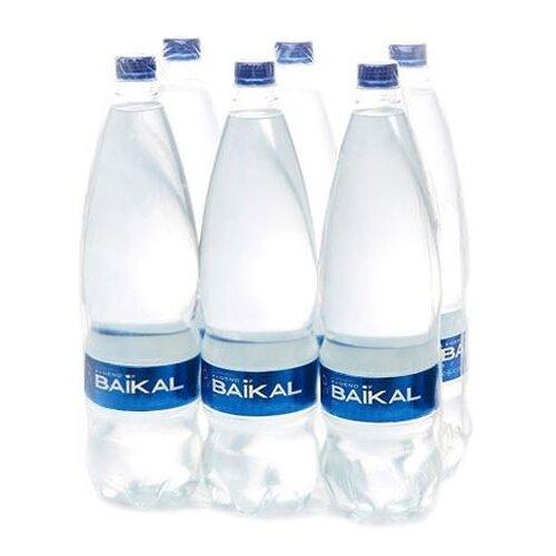 Вода питьевая Legend of Baikal глубинная негазированная, пластик, 6 шт. по 1.5 л недорого