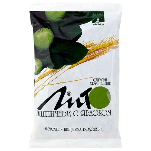 Отруби Лито пшеничные хрустящие с кальцием и яблоком, 200 г