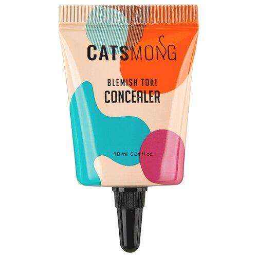 CatsMong Консилер Blemish TOK Concealer, оттенок 02 Vanilla Beige увлажняющий консилер blemish tok concealer 2 оттенка 10 мл