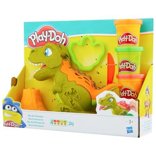 Купить Масса для лепки Play-Doh Могучий Динозавр (E1952), Пластилин и масса для лепки