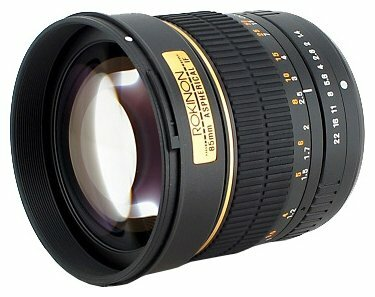 Объектив Rokinon 85mm f/1.4 Aspherical Pentax K/KAF/KAF2 (85M-P)