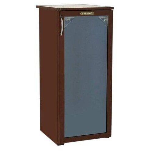 Холодильный шкаф Саратов 501 (КШ-160ц) коричневый холодильник саратов 451 кш 160