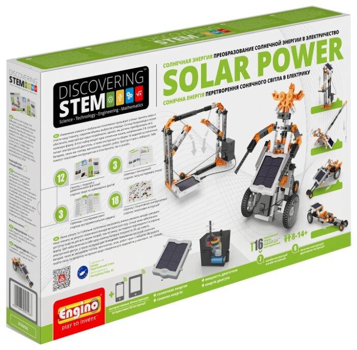 Электромеханический конструктор ENGINO Discovering STEM 30 Солнечная энергия
