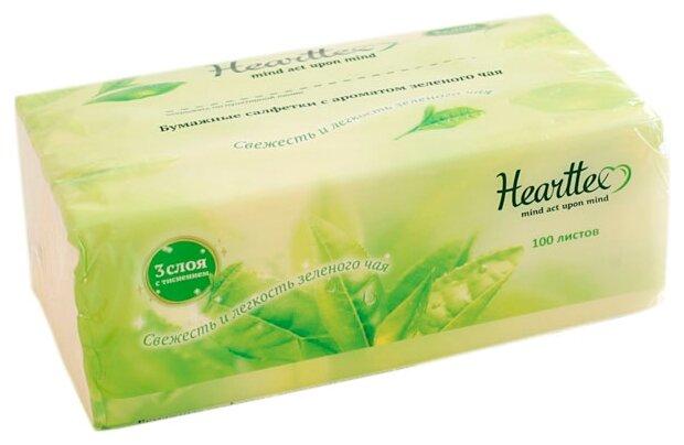 Hearttex Бумажные салфетки мягкая упаковка 100 шт