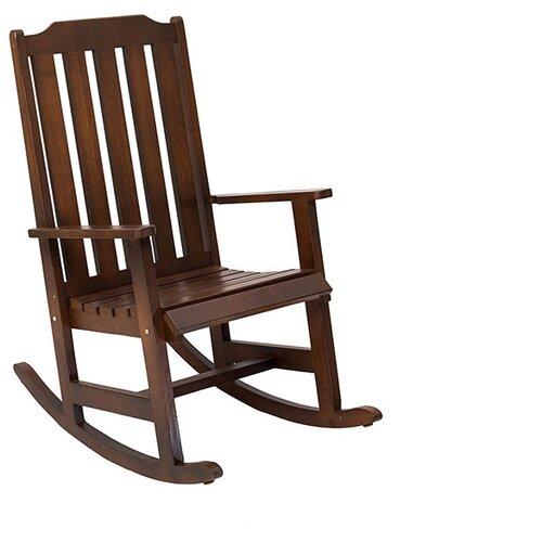 Кресло-качалка ФОТОН Линда темный орех