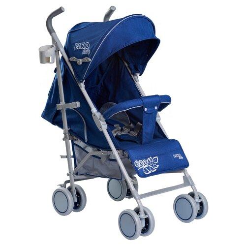 Купить Прогулочная коляска Liko Baby BT-109 City Style ECO синий, Коляски