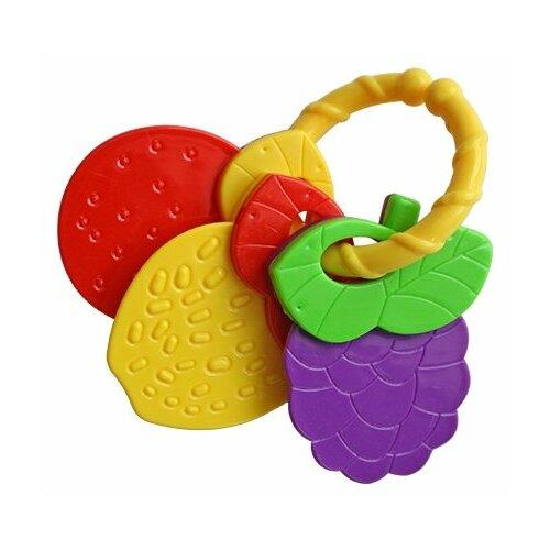 Погремушка Lubby Ягодки красный/желтый/фиолетовый, Погремушки и прорезыватели  - купить со скидкой