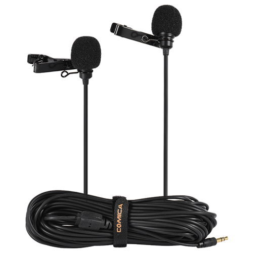 Микрофон Comica CVM-D02 (B6.0m), черный