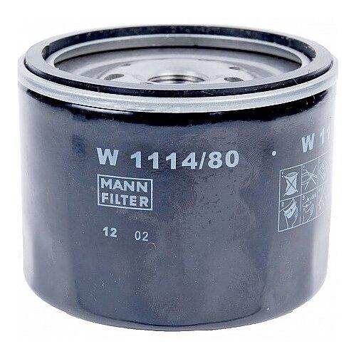 Масляный фильтр MANNFILTER W1114/80