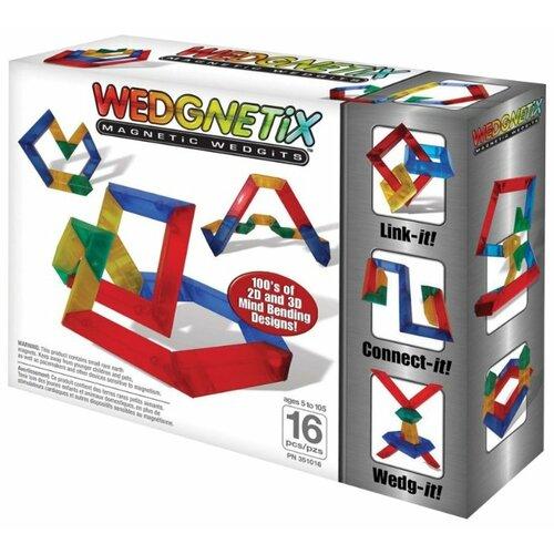 Магнитный конструктор WEDGiTS Wedgnetix 351016 wedgits конструктор imagination set