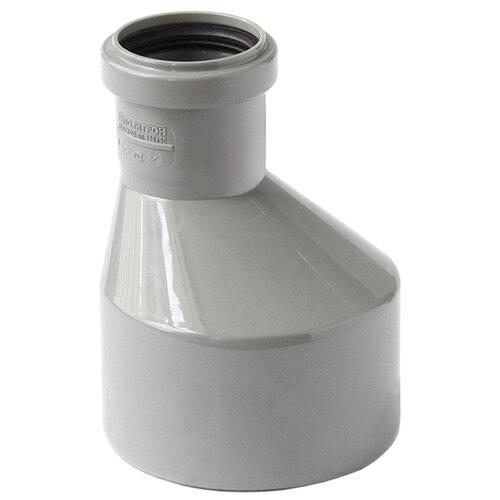 Переходник для внутренней канализации Политрон 511050 Ду 110x50мм полипропилен