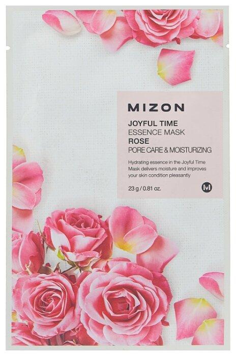 Mizon Joyful Time Essence Mask Rose тканевая маска с экстрактом лепестков розы