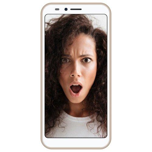 Смартфон INOI 5i Lite золотистый смартфон
