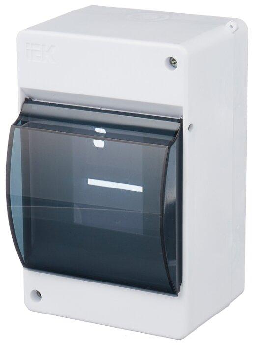 Щит распределительный IEK MKP42-N-04-30-12 навесной, пластик, модулей 4
