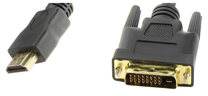 Кабель TV-COM HDMI - DVI (LCG135E) 2 м черный