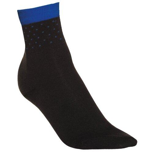 носки 025L 1 пара DIM черный и синий в горошек 37-41 (DIM)Носки<br>