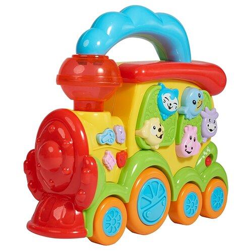 Купить Интерактивная развивающая игрушка kari Паровозик разноцветный, Развивающие игрушки