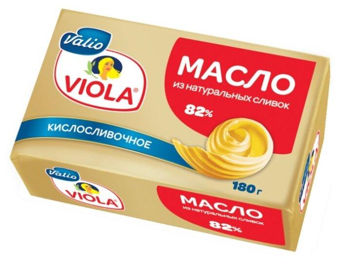 Viola Масло кислосливочное 82%, 180 г