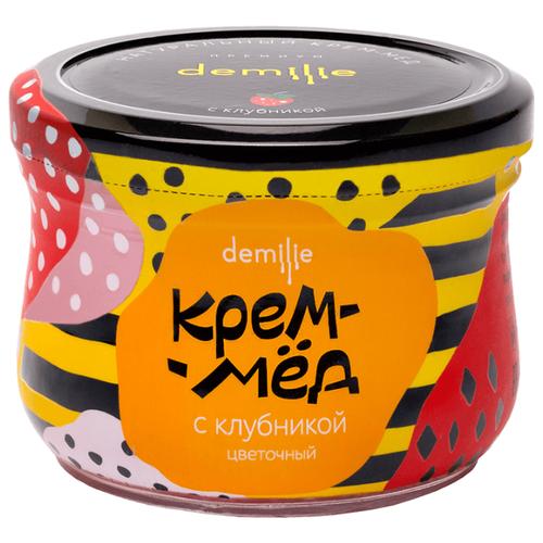 Крем-мед Demilie с клубникой 250 мл