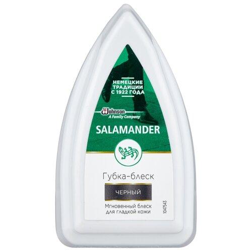Salamander Shoe Shine губка-блеск для изделий из гладкой кожи черный губка для гладой кожи salamander professional