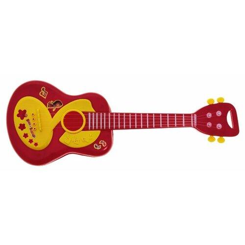 Купить Играем вместе гитара Маша и Медведь B278735-R2 красный, Детские музыкальные инструменты