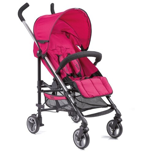 Купить Прогулочная коляска Gesslein S5 2+2 Sport pink, Коляски